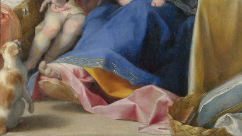 Federico Barocci, 'The Madonna of the Cat ('La Madonna del Gatto')', probably about 1575