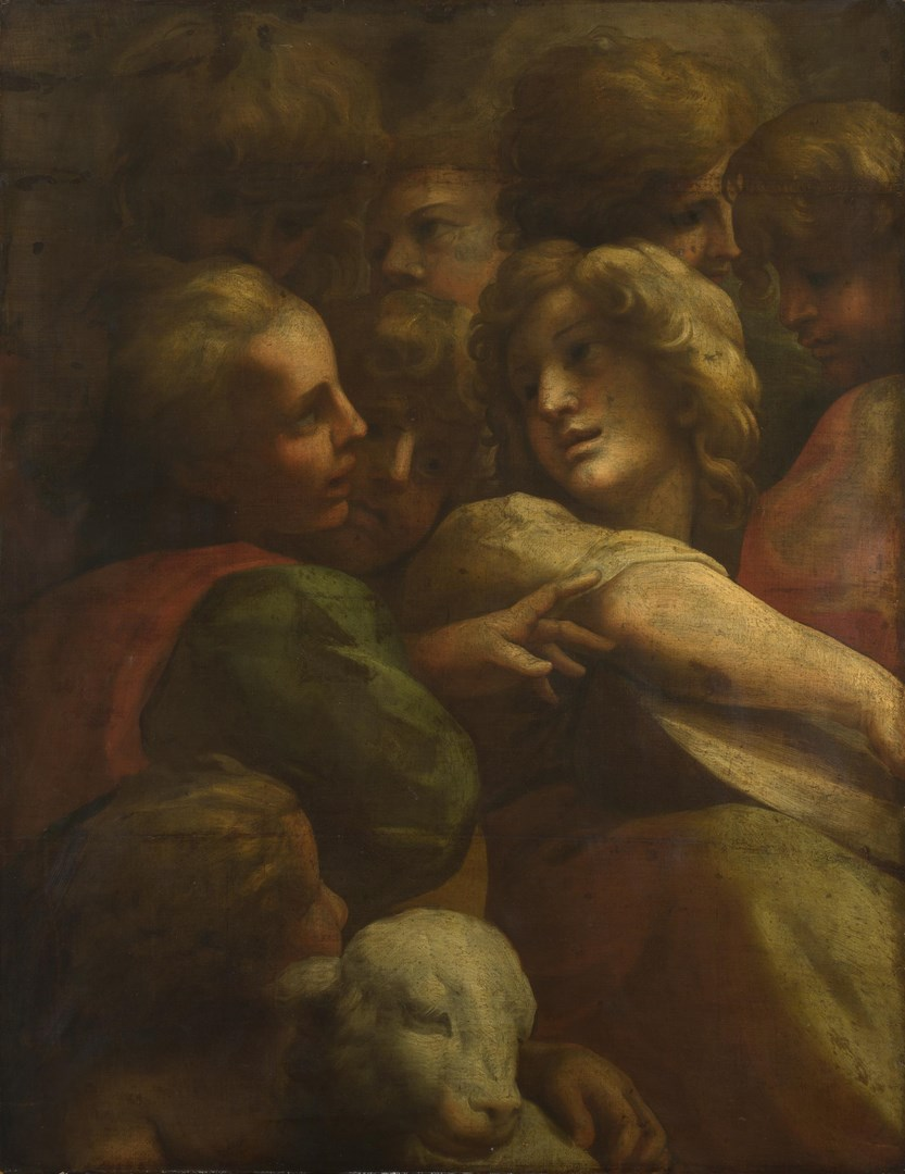Group of Heads by After Correggio