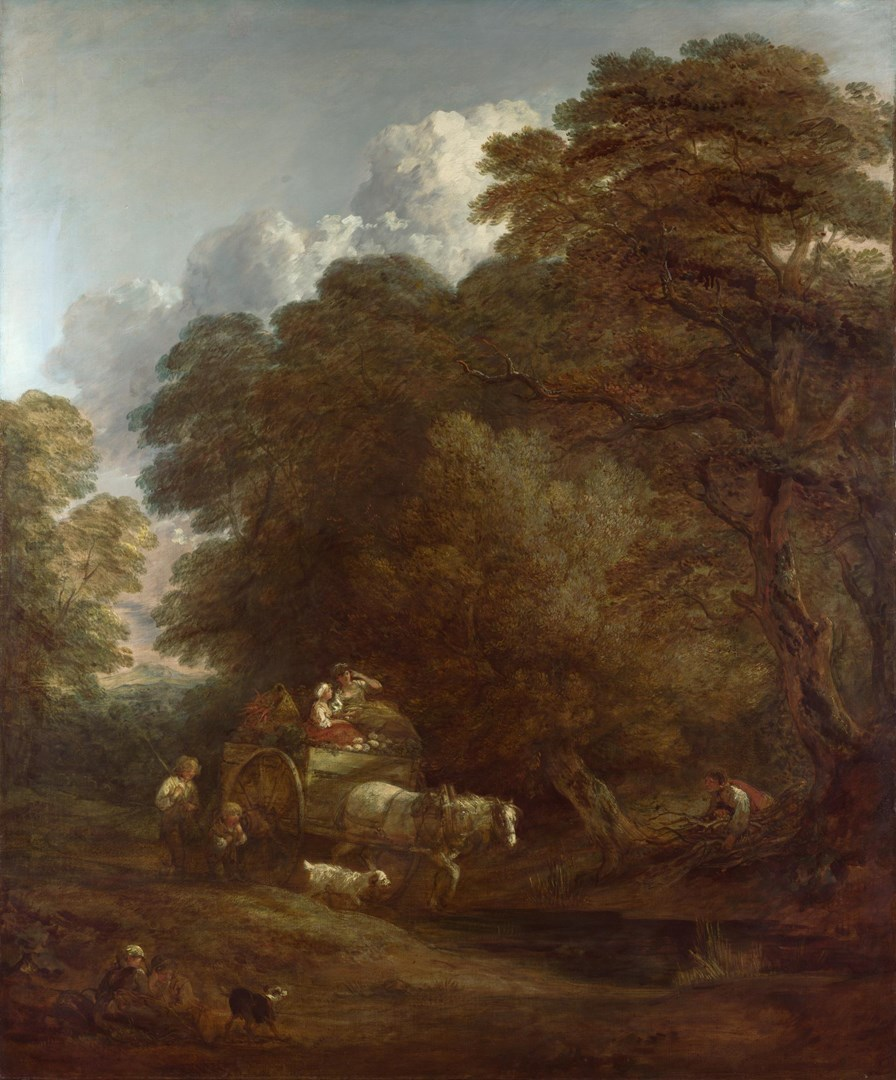 The Market Cart by Thomas Gainsborough