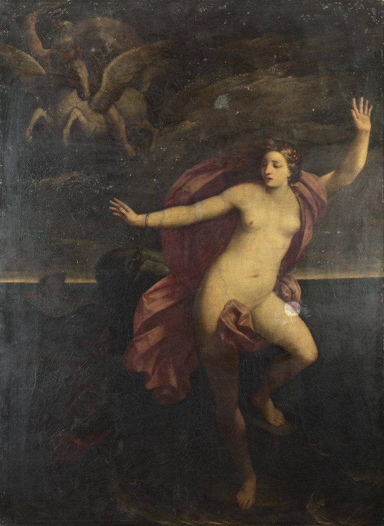 Perseus and Andromeda by After Guido Reni