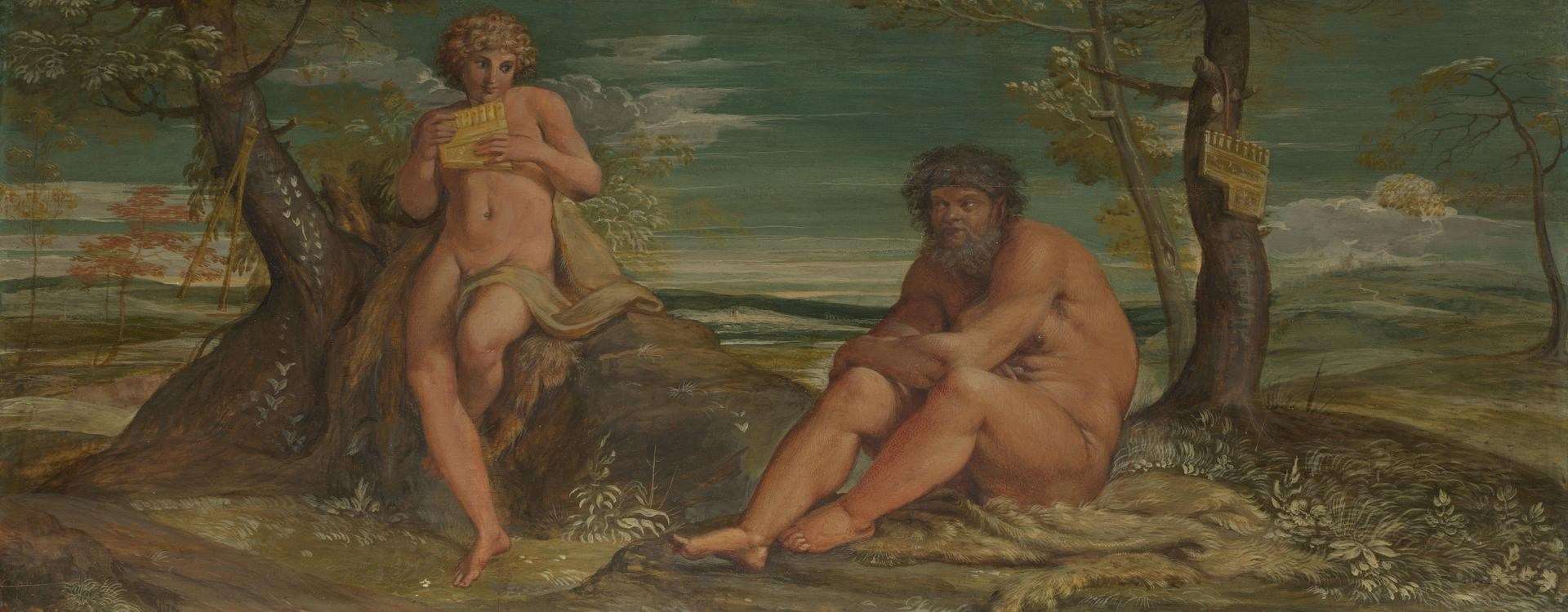 Marsyas and Olympus by Annibale Carracci