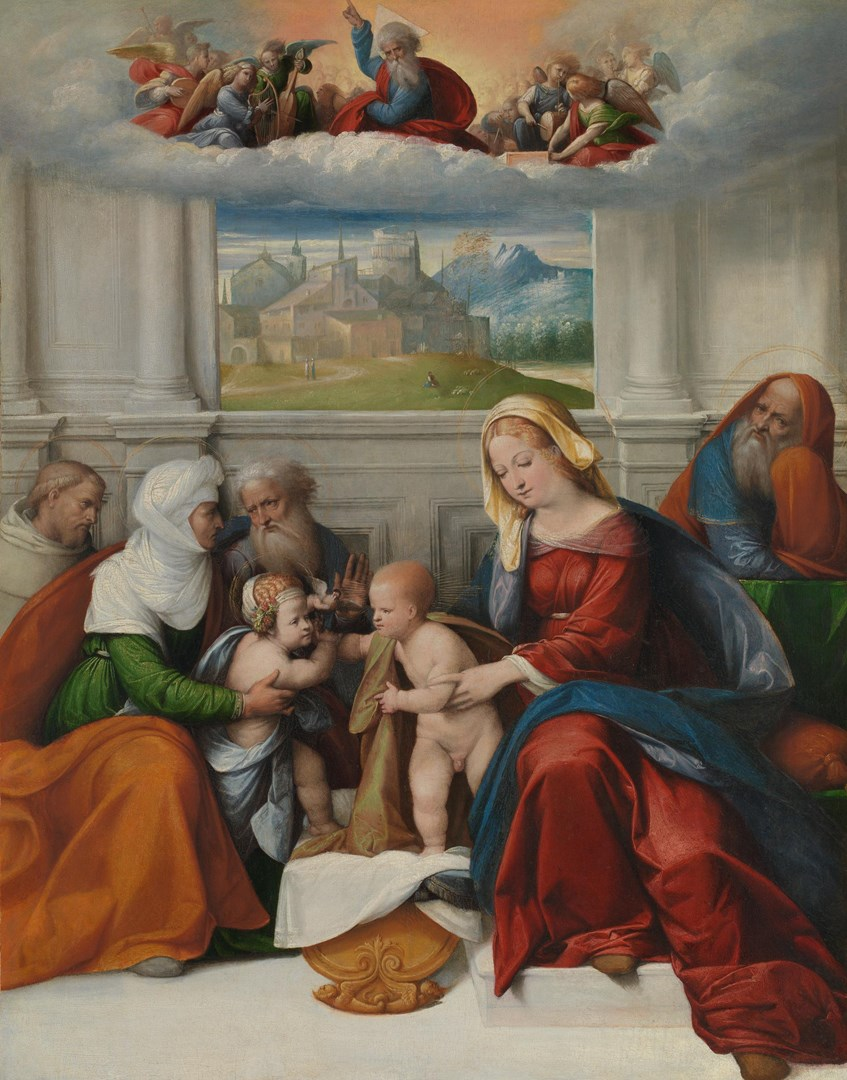 The Holy Family with Saints by Garofalo
