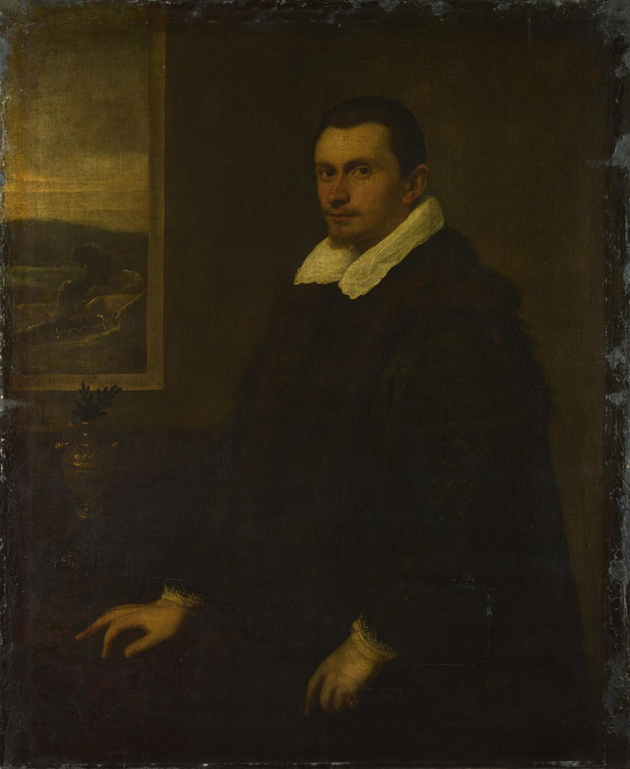 Portrait of a Gentleman by Domenico Tintoretto (?)