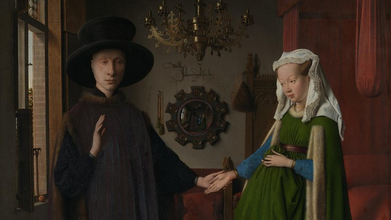 Jan van Eyck, 'The Arnolfini Portrait', 1434