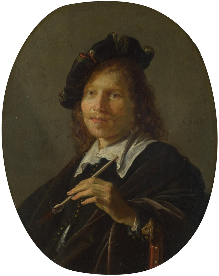 Portrait of a Man by Gerrit Dou