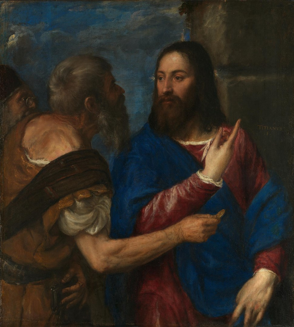 The Tribute Money by Titian