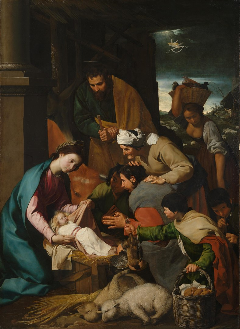 The Adoration of the Shepherds by Italian, Neapolitan