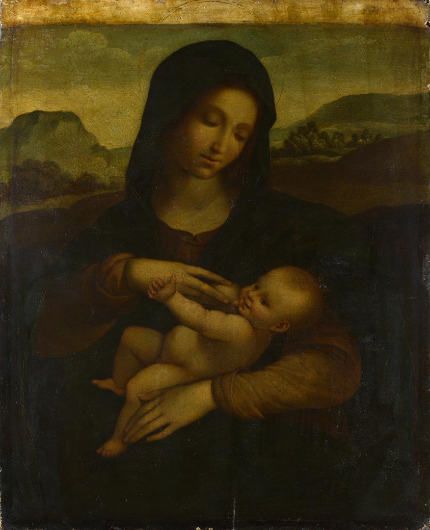 The Madonna and Child by Possibly by Sodoma