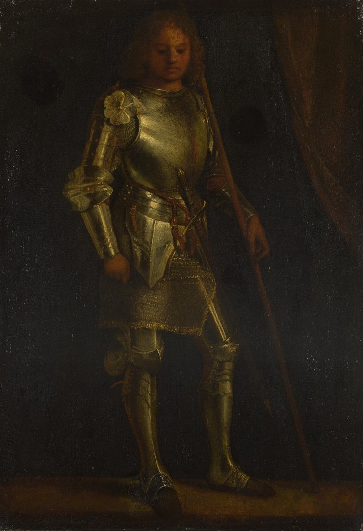 A Man in Armour by Imitator of Giorgione