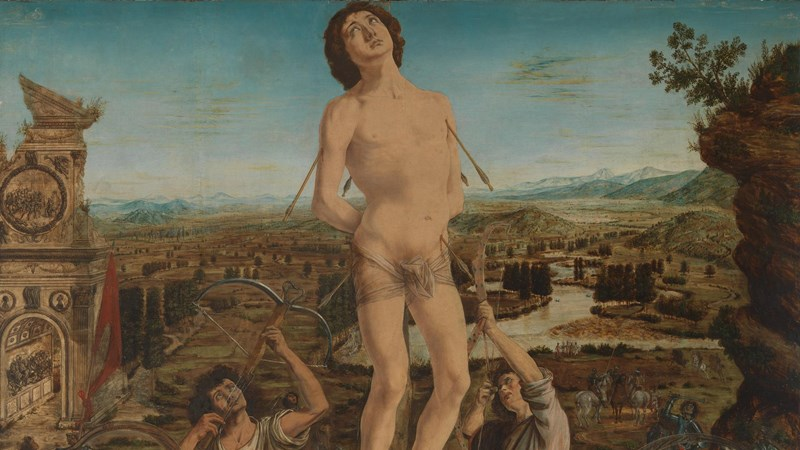 Antonio del Pollaiuolo and Piero del Pollaiuolo, 'The Martyrdom of Saint Sebastian', completed 1475