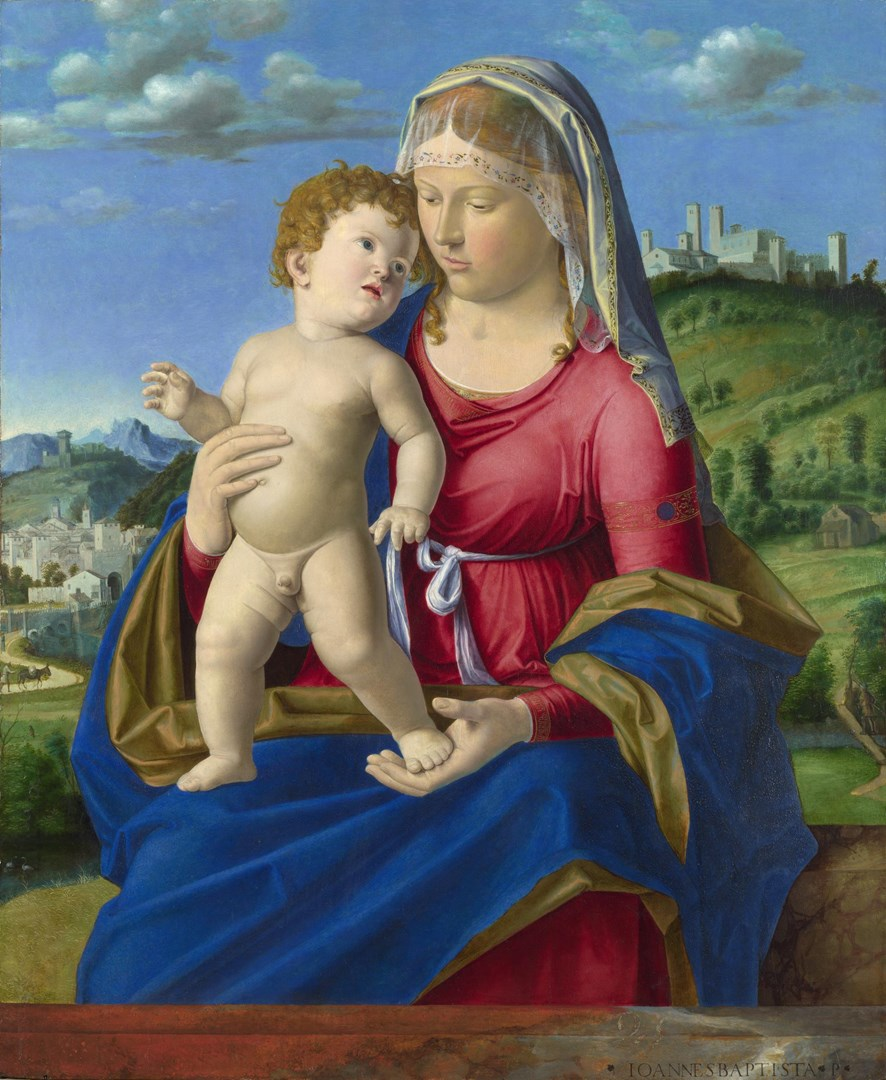 The Virgin and Child by Giovanni Battista Cima da Conegliano