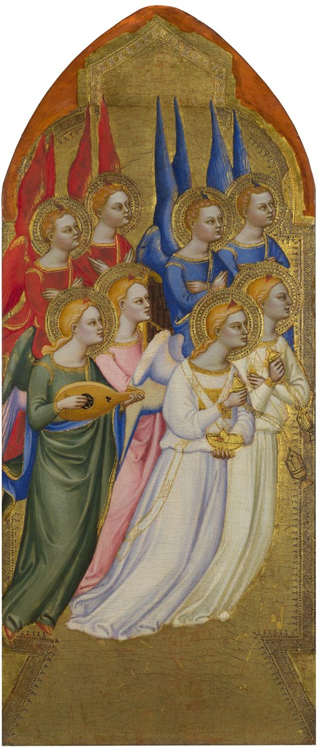 Seraphim, Cherubim and Adoring Angels by Jacopo di Cione and workshop