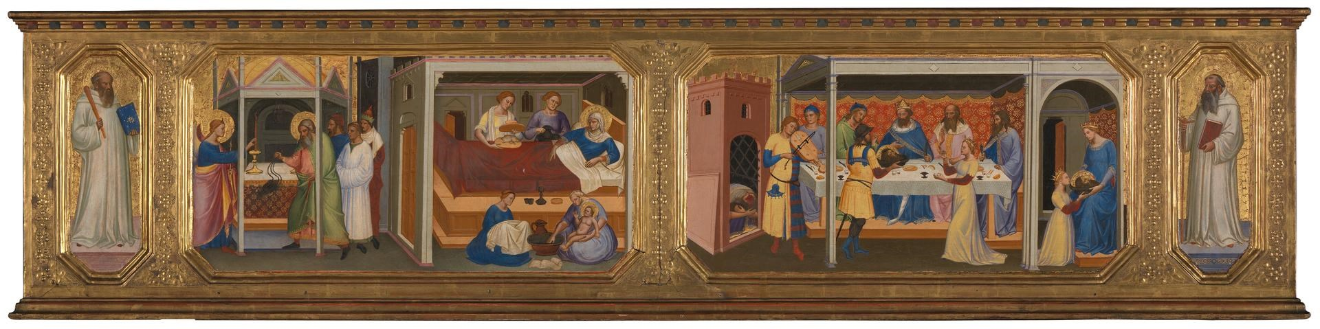 Scenes from the Life of Saint John the Baptist by Niccolò di Pietro Gerini