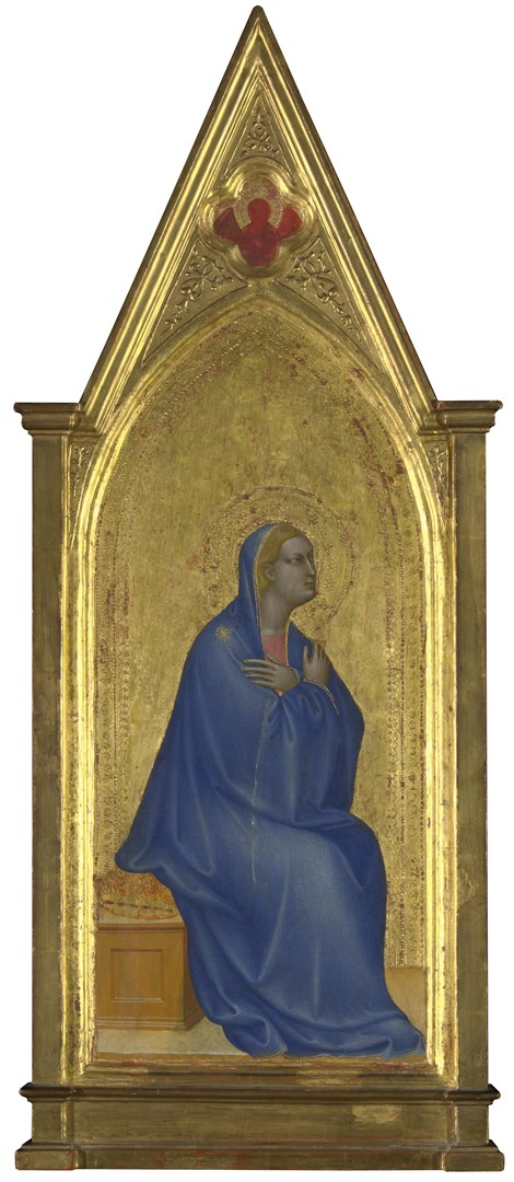The Virgin: Left Pinnacle Panel by Giovanni da Milano