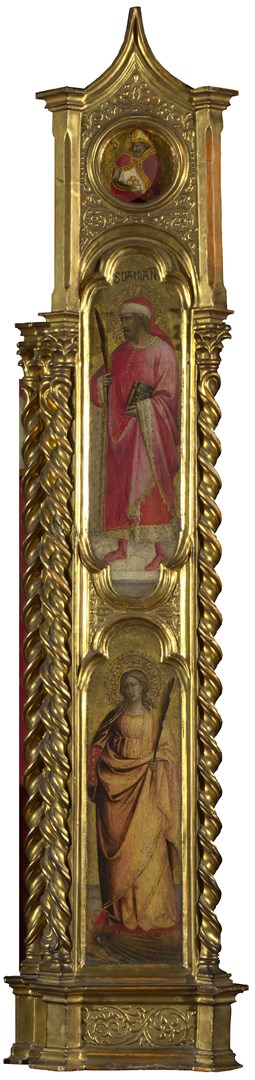 Saints Nicholas, Damian and Margaret: Right Pilaster by Giovanni dal Ponte