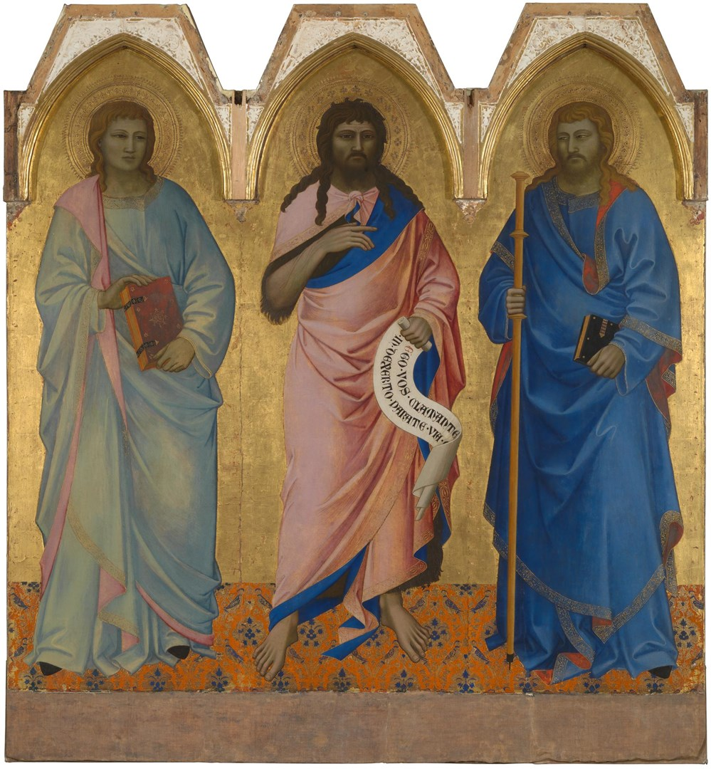 Three Saints by Nardo di Cione
