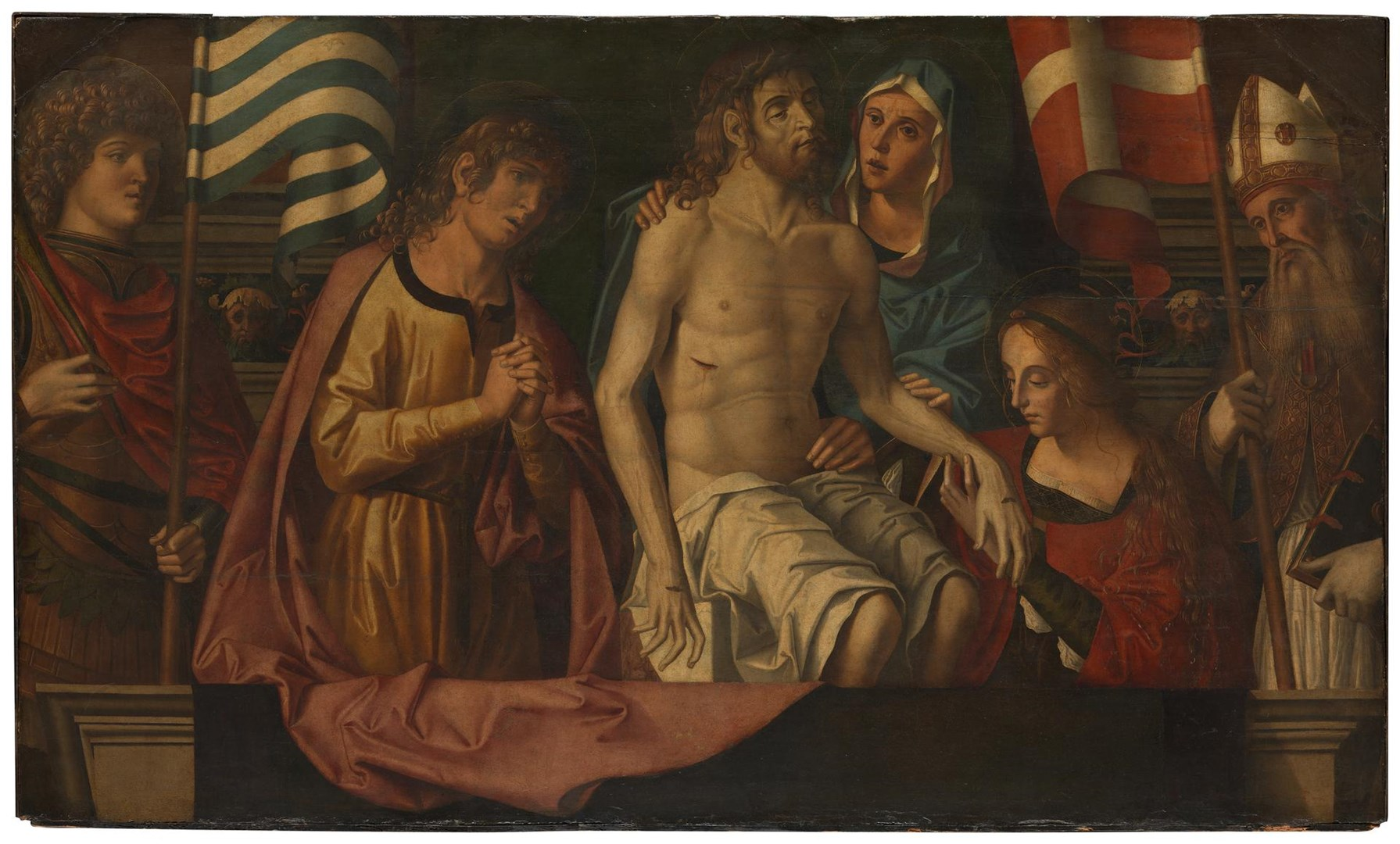 The Lamentation over the Dead Christ by Marco Palmezzano