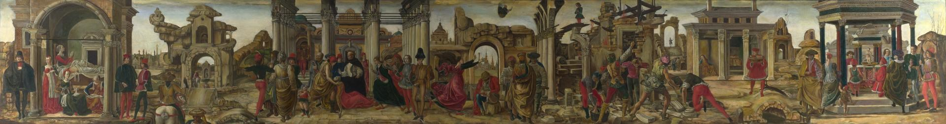 Scenes from the Life of Saint Vincent Ferrer by After Francesco del Cossa (Carrine Palmieri and Rosa Falcone)