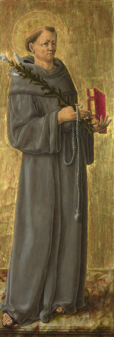 Saint Anthony of Padua by Giorgio Schiavone