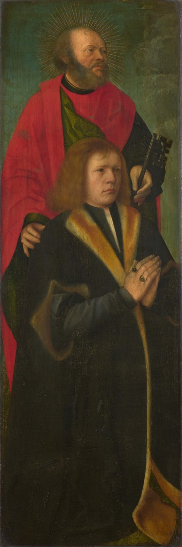 Saint Peter and a Donor by Followers of Gerard David