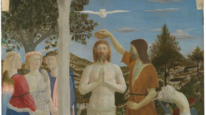 Piero della Francesca, 'The Baptism of Christ', after 1437