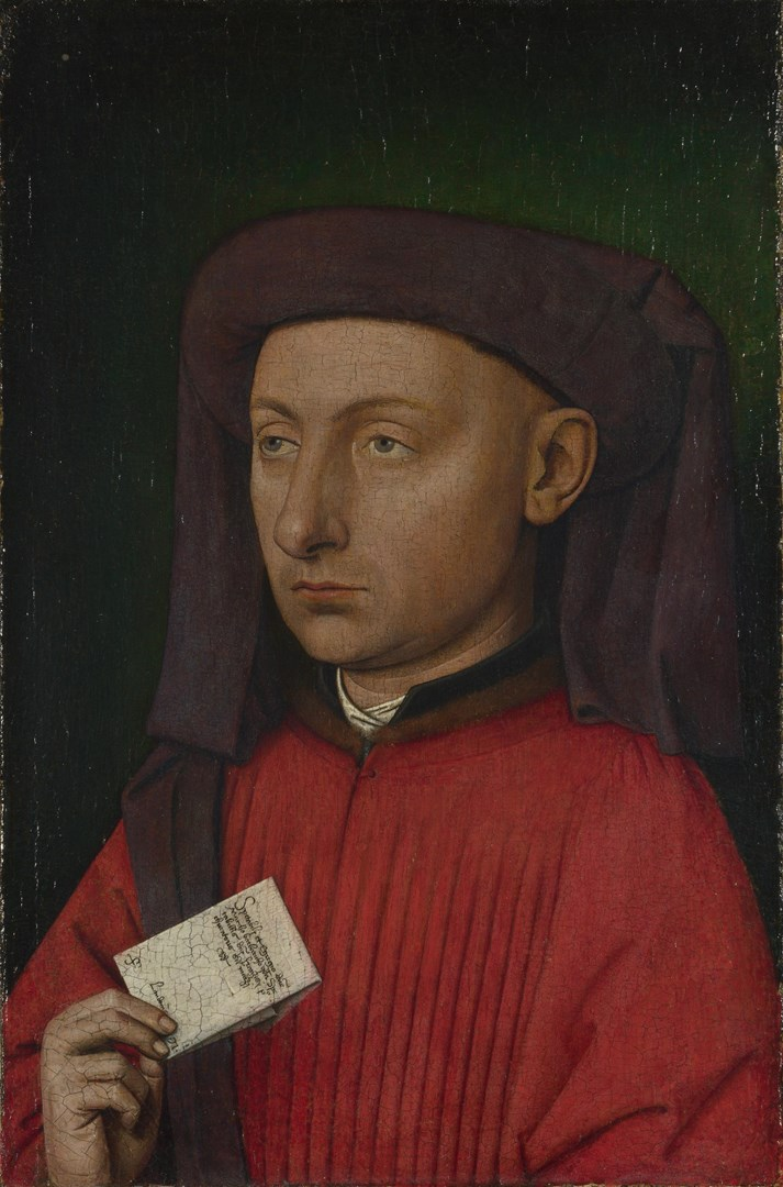 Marco Barbarigo by Follower of Jan van Eyck
