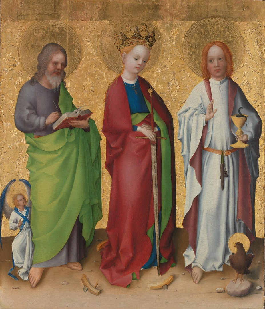 Three Saints by Stephan Lochner