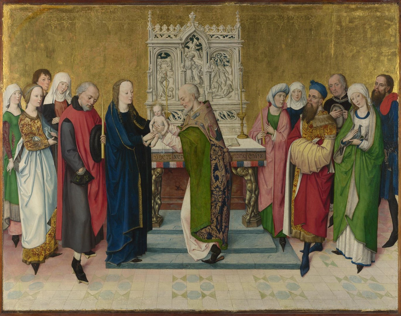 The Presentation in the Temple by Master of the Life of the Virgin