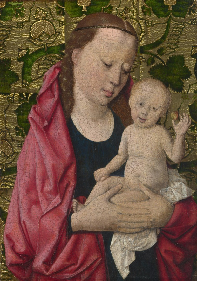 The Virgin and Child by Workshop of Dirk Bouts