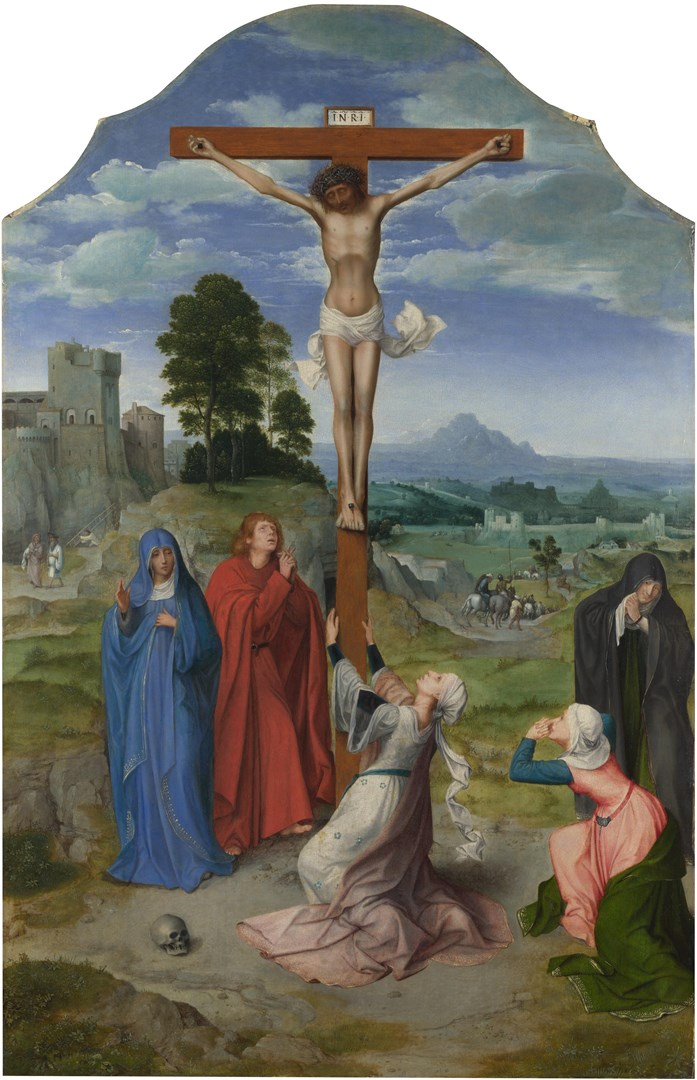 The Crucifixion by Quinten Massys