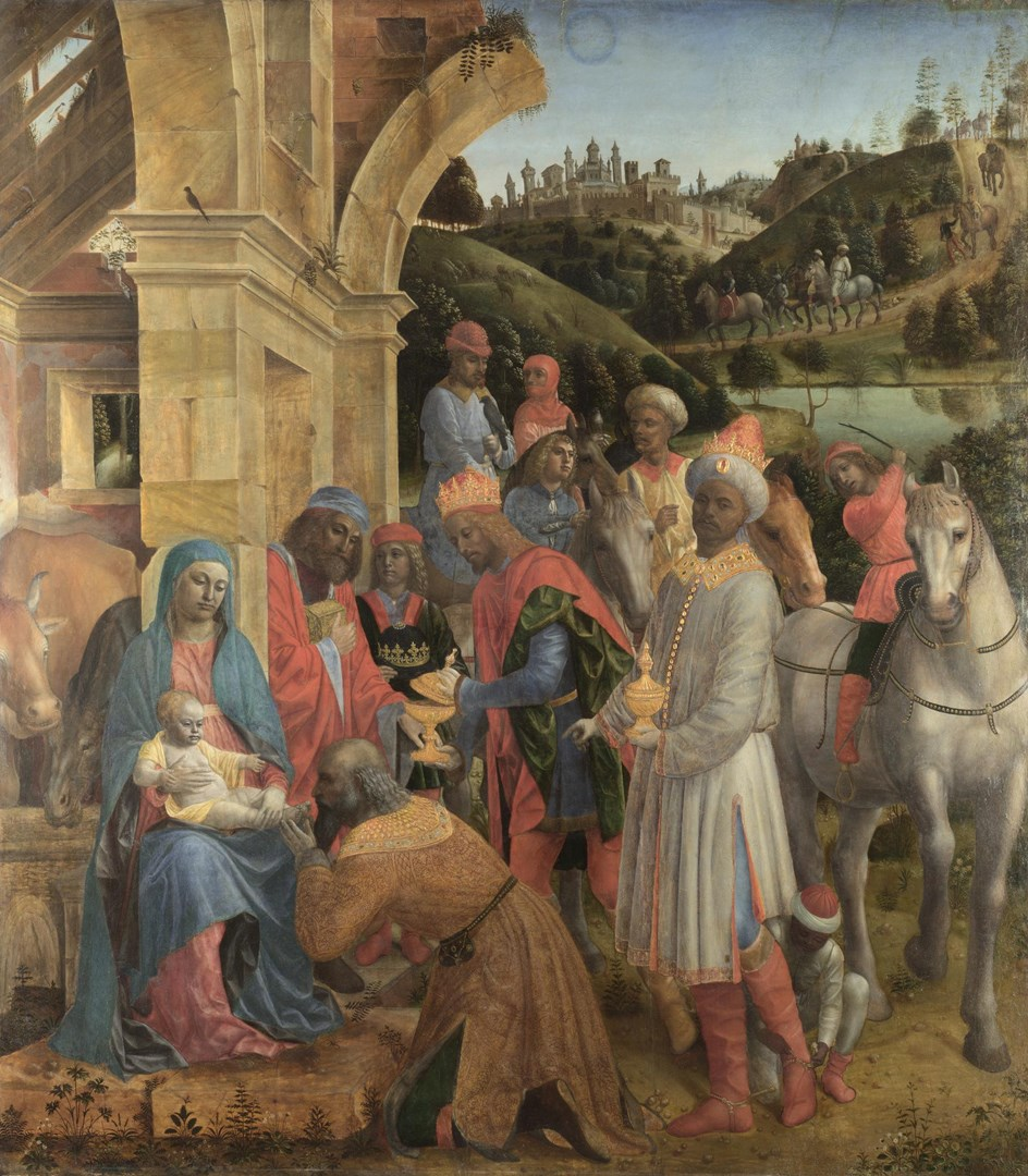 The Adoration of the Kings by Vincenzo Foppa