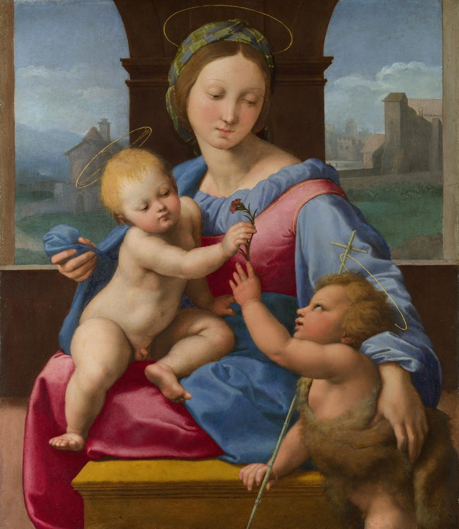 The Garvagh Madonna by Raphael