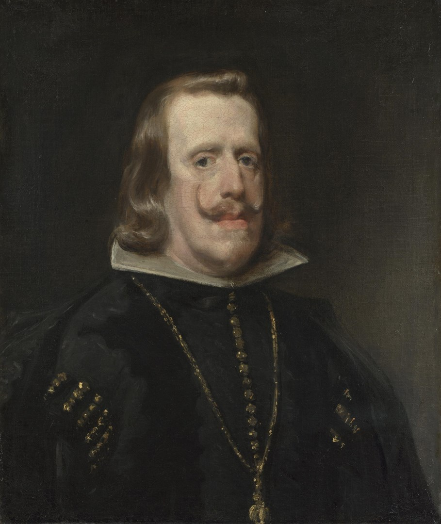 Philip IV of Spain by Diego Velázquez