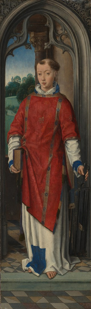 Saint Lawrence by Hans Memling