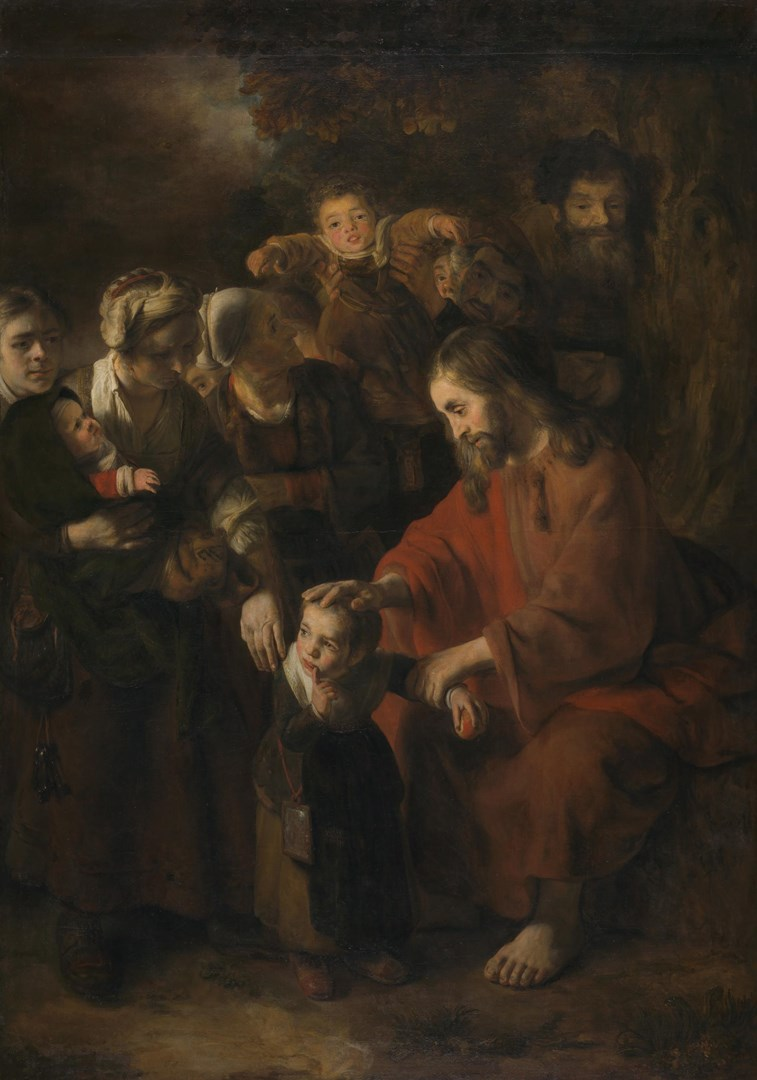 Christ blessing the Children by Nicolaes Maes