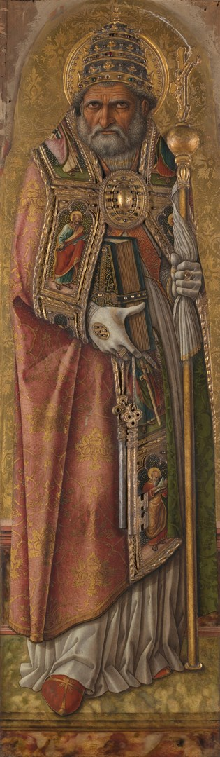 Saint Peter by Carlo Crivelli