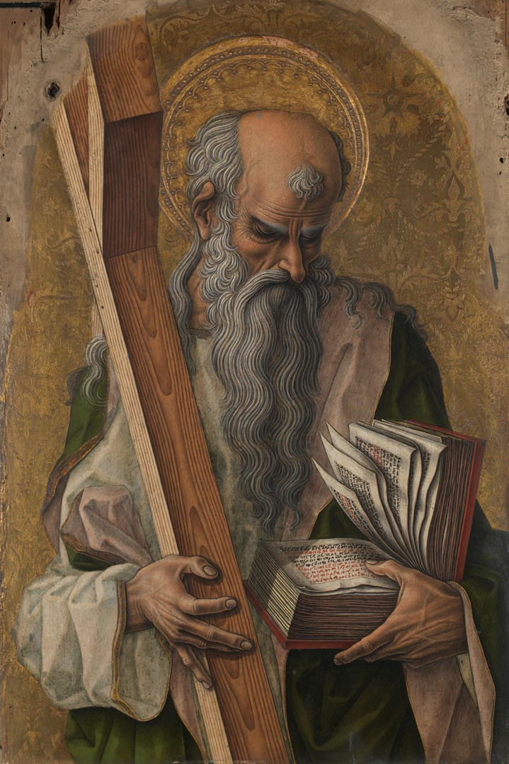 Saint Andrew by Carlo Crivelli