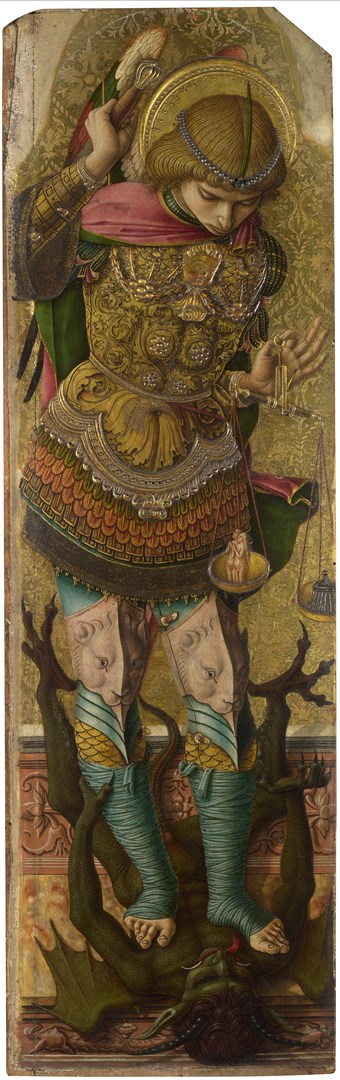 Saint Michael by Carlo Crivelli