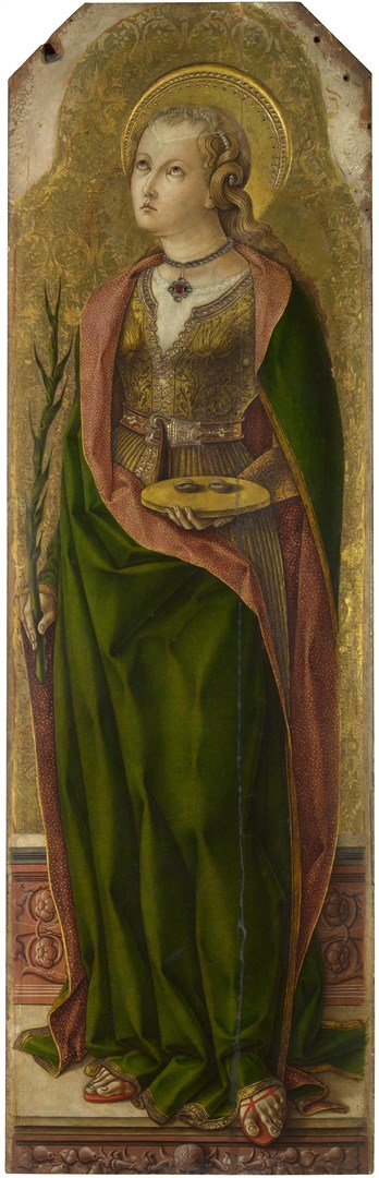 Saint Lucy by Carlo Crivelli