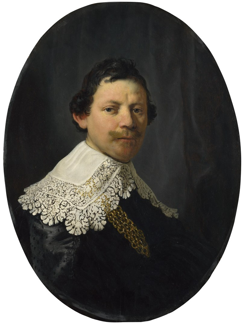 Portrait of Philips Lucasz. by Rembrandt