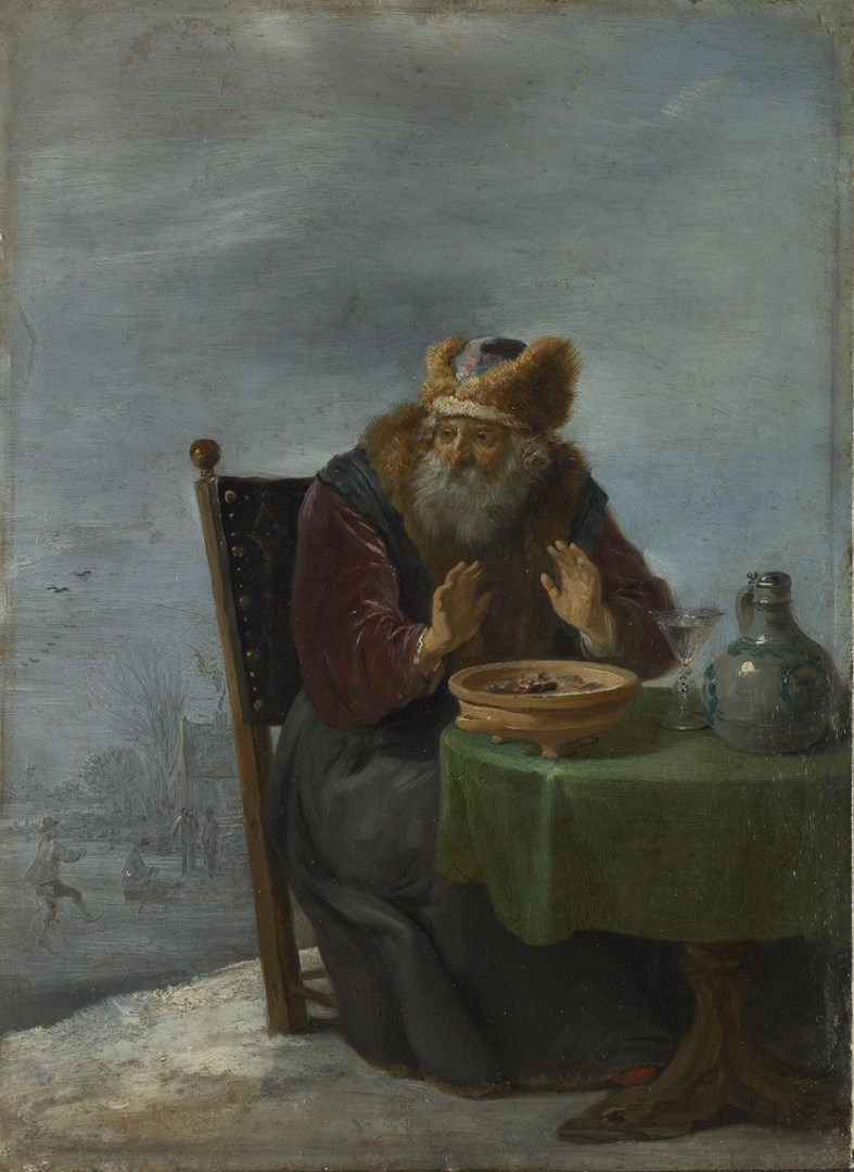 Winter by David Teniers the Younger