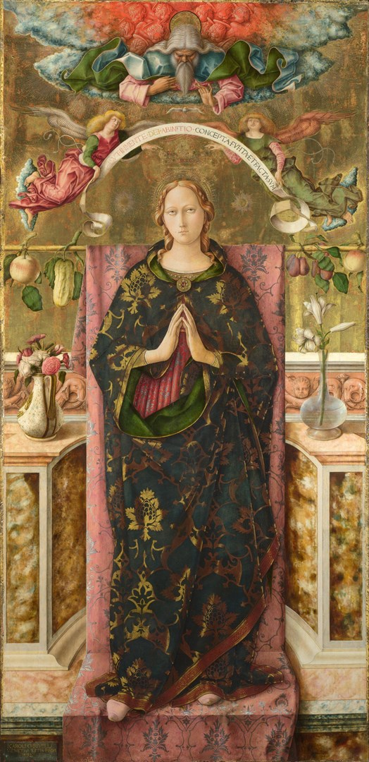 The Immaculate Conception by Carlo Crivelli