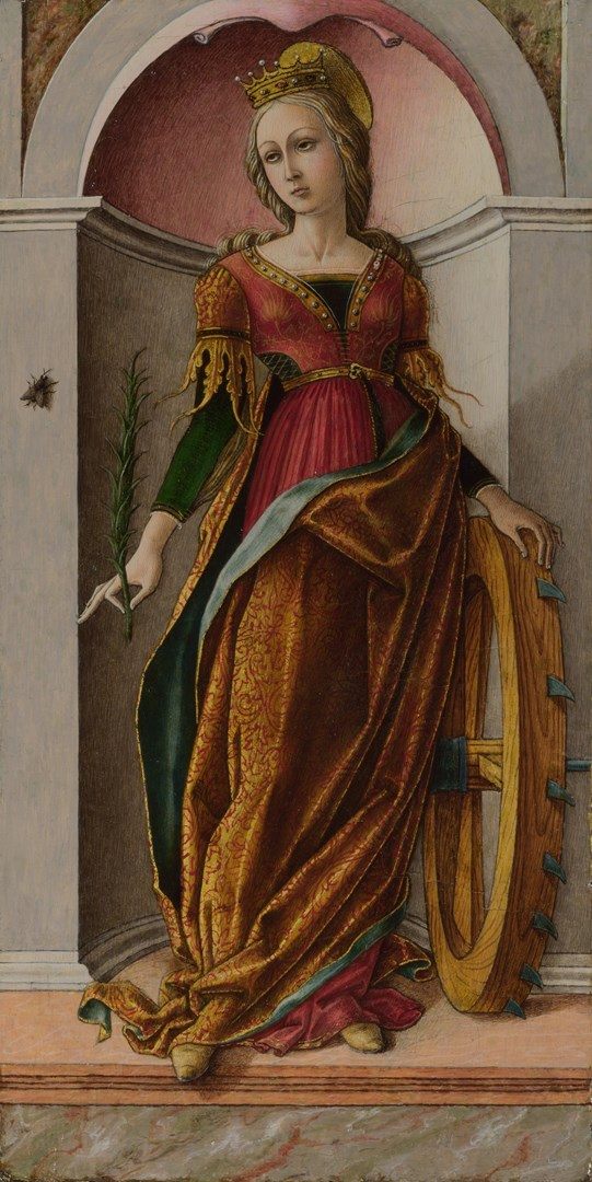 Saint Catherine of Alexandria by Carlo Crivelli