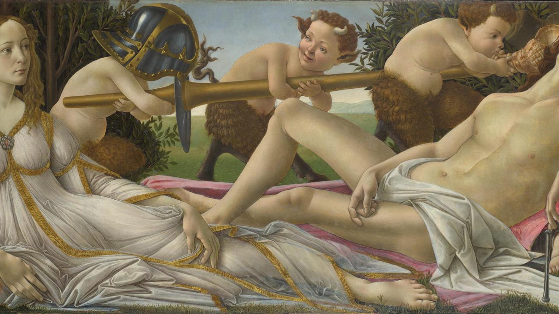 Sandro Botticelli Venus And Mars Ng915 National Gallery London