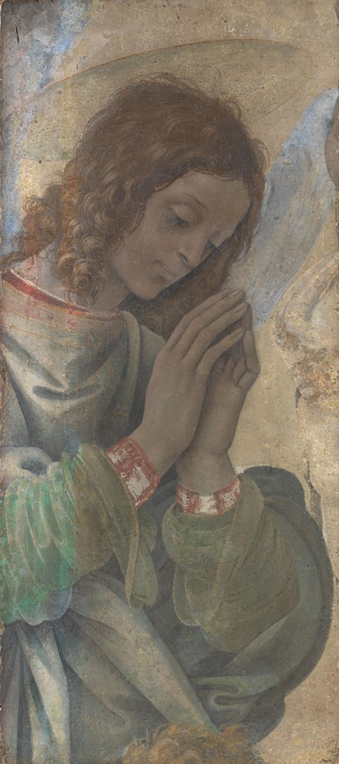 An Angel Adoring by Filippino Lippi