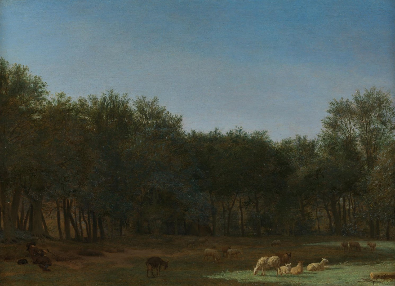 The Edge of a Wood by Adriaen van de Velde
