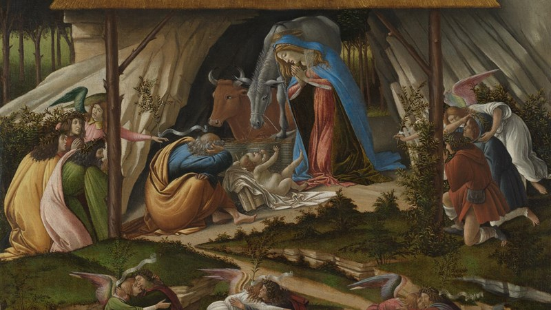 Sandro Botticelli, ''Mystic Nativity'', 1500