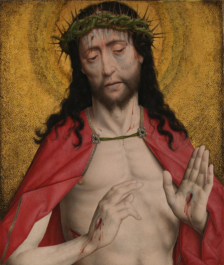 Christ Crowned with Thorns by Dirk Bouts
