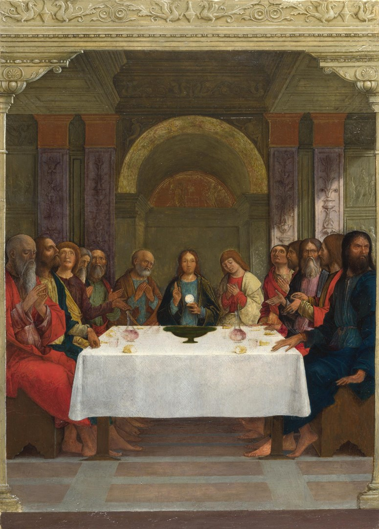 The Institution of the Eucharist by Ercole de' Roberti