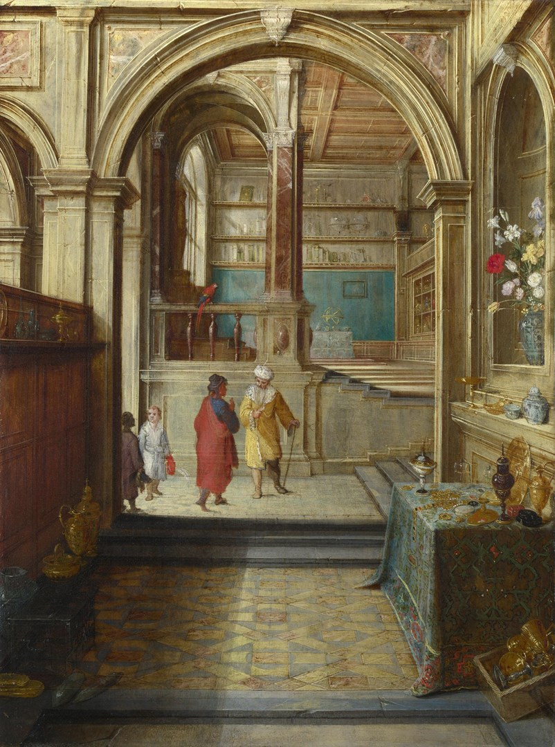 Croesus and Solon by Hendrick van Steenwyck the Younger and Follower of Jan Brueghel the Elder